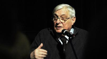В театре сообщили подробности госпитализации Олега Басилашвили