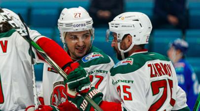 «Ак Барс» победил «Барыс» в матче КХЛ
