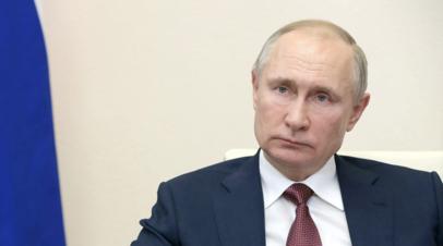 Путин поручил проанализировать вспышки коронавируса в ряде стран