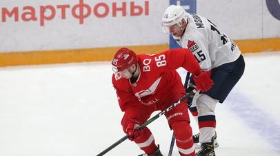 «Спартак» обыграл «Торпедо» в овертайме матча КХЛ