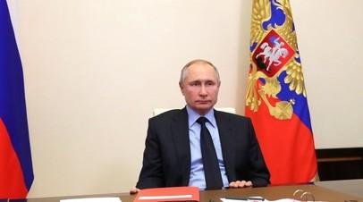 Путин поручил МИД провести переговоры с США по продлению ДСНВ