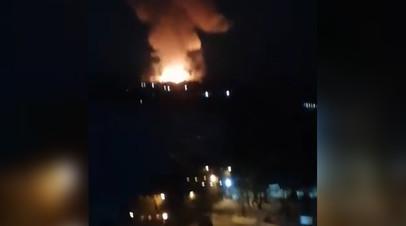 Взрыв на пороховом заводе в Перми — видео