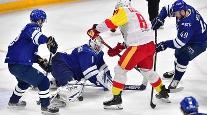 ХК «Динамо» обыграл «Йокерит», добыв пятую победу подряд в КХЛ