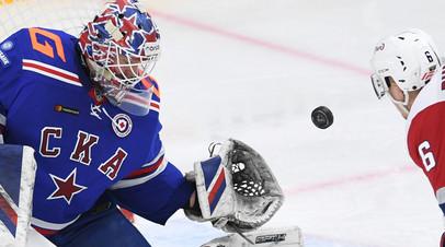 СКА в овертайме победил «Локомотив» в матче КХЛ