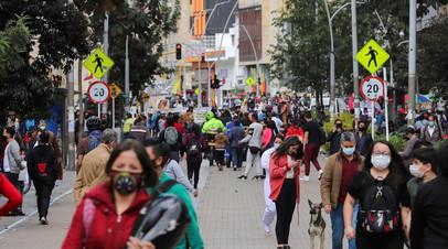Число случаев коронавируса в Колумбии достигло 2 142 660.