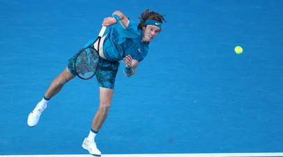 Рублёв победил Лопеса и вышел в четвёртый круг Australian Open