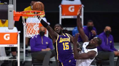 «Лейкерс» одержал седьмую победу подряд в НБА, Дэвис набрал 35 очков