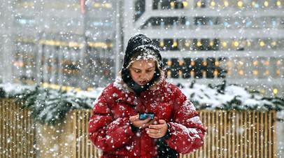 Синоптики предупредили о снегопаде в течение нескольких дней в Москве