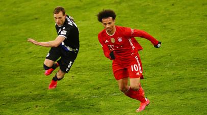 «Бавария» сыграла вничью с «Арминией» в матче Бундеслиги
