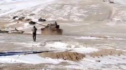 The Hindu: Китай и Индия отведут силы от озера Пангонг в течение недели