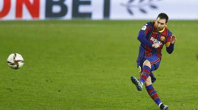 Месси забил 20 мячей за «Барселону» в 13-м сезоне подряд