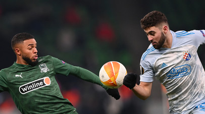 Берг заявил, что «Краснодар» много ошибался в матче с загребским «Динамо»