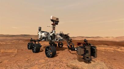 В NASA рассказали подробности о посадке аппарата Perseverance на Марс