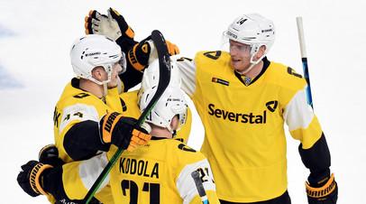 Минское «Динамо» и «Северсталь» вышли в плей-офф КХЛ