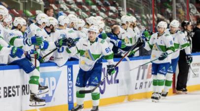 «Салават Юлаев» одержал восьмую победу подряд в КХЛ