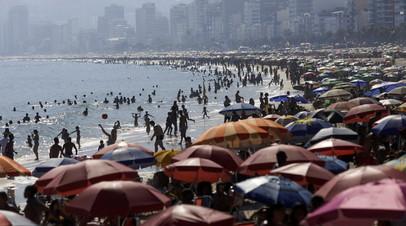 В Бразилии за сутки выявили более 62 тысяч случаев коронавируса