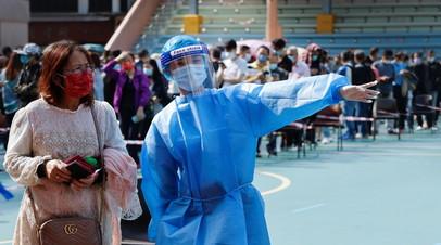 В Китае за сутки выявили 21 случай заболевания коронавирусом