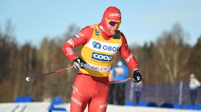 Большунов вышел в полуфинал спринта на ЧМ в Оберстдорфе