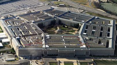 Пентагон заявил об уничтожении девяти объектов при авиаударе в Сирии