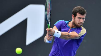 Хачанов сыграет с Вавринкой в первом круге турнира ATP в Роттердаме