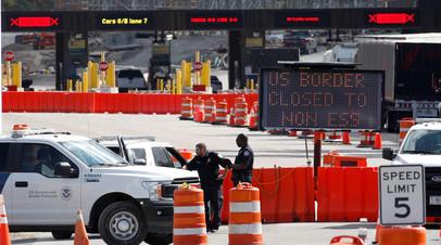 Канада продлевает закрытие границ с США до 21 марта