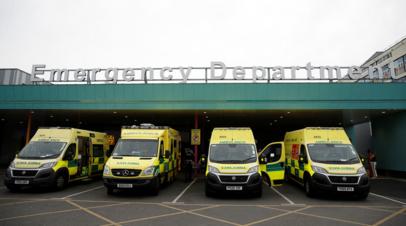 Число жертв коронавируса в Британии превысило 120 тысяч