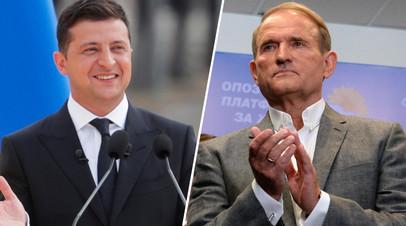 «Противоправный абсурд»: в России осудили введение СНБО Украины санкций против Медведчука