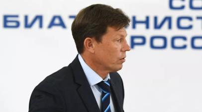Глава СБР заявил, что верил в успех российских биатлонистов на ЧМ