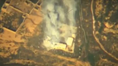 Опубликовано видео применения беспилотника «Орион» в Сирии