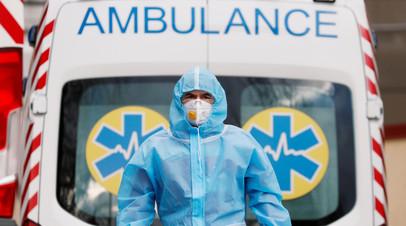 На Украине за сутки выявили более 3 тысяч случаев коронавируса