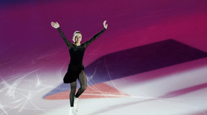 Валиева лидирует после короткой программы в финале Кубка России