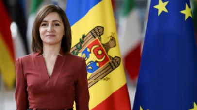 Санду оценила ввоз в Молдавию первой партии вакцины от COVID-19
