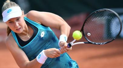 Блинкова уступила на старте турнира WTA в Дохе