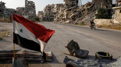 В Сирии 18 человек погибли в результате взрыва двух мин