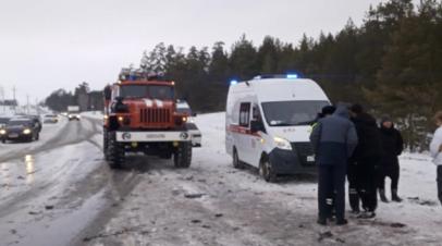 Семь человек погибли в ДТП с участием грузовика под Самарой