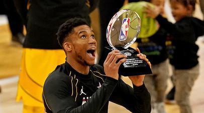 Адетокунбо признан MVP Матча звёзд НБА