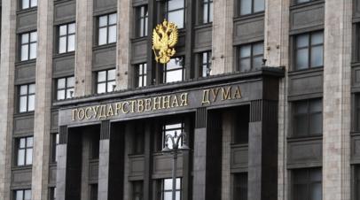 В Госдуме оценили слова советника главы МВД Украины об «ударе» по России