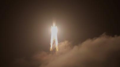 В КНР провели успешный запуск ракеты нового поколения «Чанчжэн-7А»