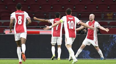 «Аякс» разгромил «Янг Бойз» в первом матче 1/8 финала Лиги Европы