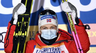 Клебо: у Большунова были безумно хорошие лыжи