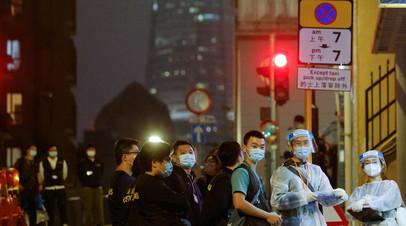В Китае за сутки выявили четыре ввозных случая коронавируса