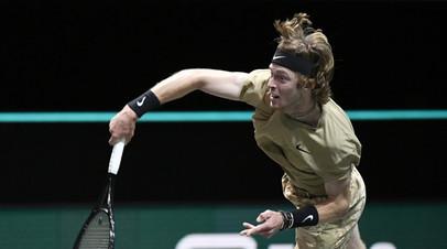 Рублёв разгромил Фритца и вышел в четвертьфинал турнира ATP в Дубае