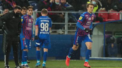 Дубль Вендела принёс «Зениту» победу над ЦСКА в матче РПЛ