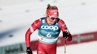 Сорина выиграла скиатлон на чемпионате России по лыжным гонкам