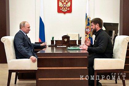Путин отреагировал на санкции против Кадырова