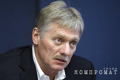 Песков прокомментировал опрос о работе чиновников фразой «в семье не без урода»