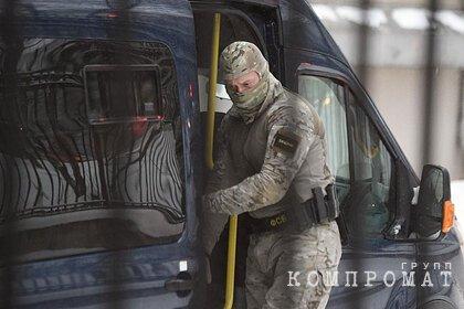 ФСБ заявила о попытке вооруженного прорыва в Россию с Украины