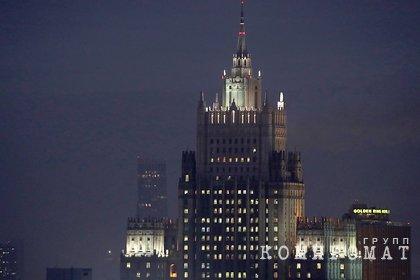 МИД России подтвердил похищение миллиона долларов из ведомства