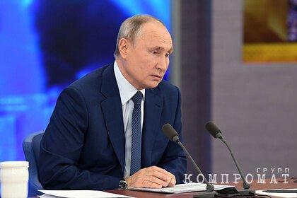 Путин оценил необходимость вакцинации в России