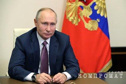 Путин оценил роль МЧС в борьбе с пандемией коронавируса